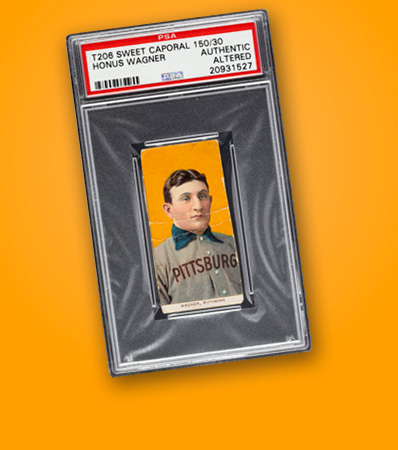 1909-11 T206 Sweet Caporal 150/25 Honus Wagner PSA Authentic/Altered