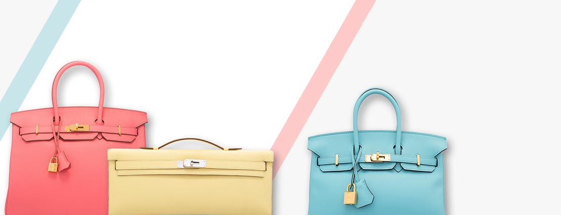 Hermes Handbags in Various Colors
