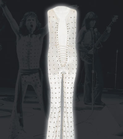 Rolling Stones - Mick Jagger Stage Worn Jumpsuit from Madison Square Garden and The Dick Cavett Show