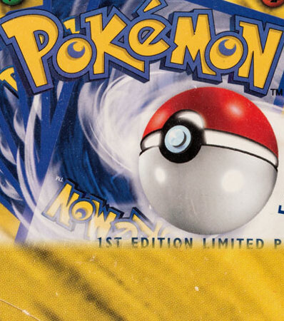 Pokémon First Edition Base Set Sealed Booster Box (Wizards of the Coast, 1999).