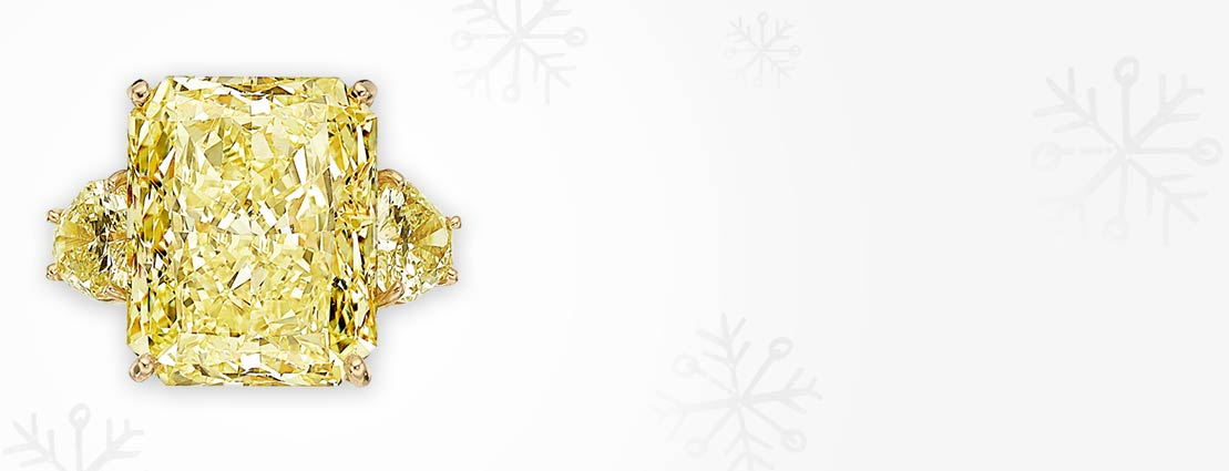 Fancy Light Yellow Diamond, Diamond, Gold Ring