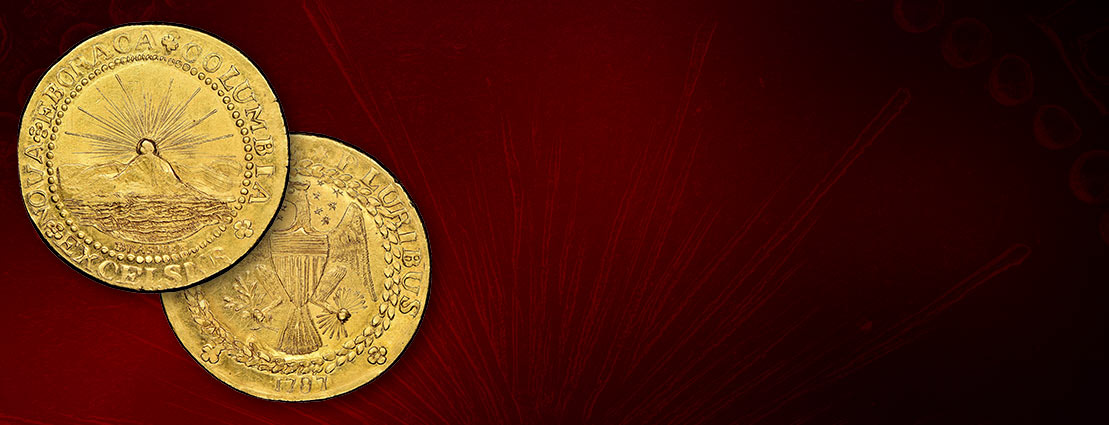 'The World's Most Famous Coin' 1787 New York-Style Brasher Doubloon, W-5840, MS65★