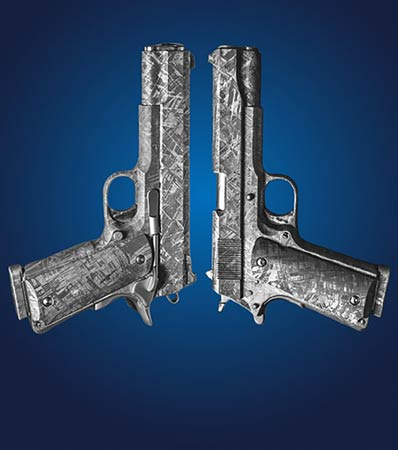 Model 1911 Meteorite Pistol Set | Iron, IVA