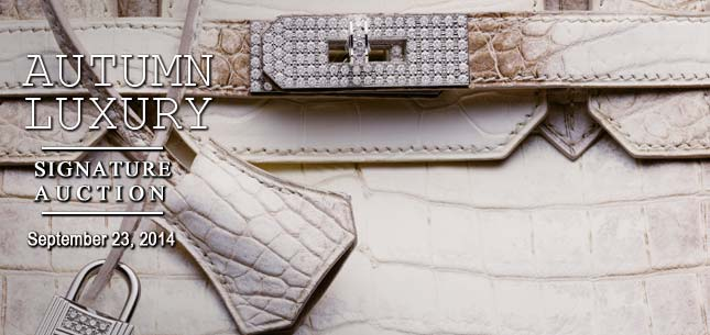 September 23 Luxury Accessories Signature Auction - Beverly Hills #5191