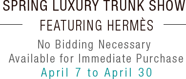 Hermes Handbag Trunk Show  at Heritage Auctions