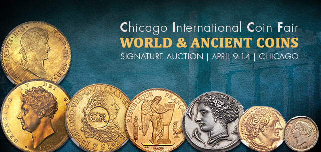 2015 April 9 - 14 CICF World Coins & Ancient Coins Signature Auction - Chicago #3040