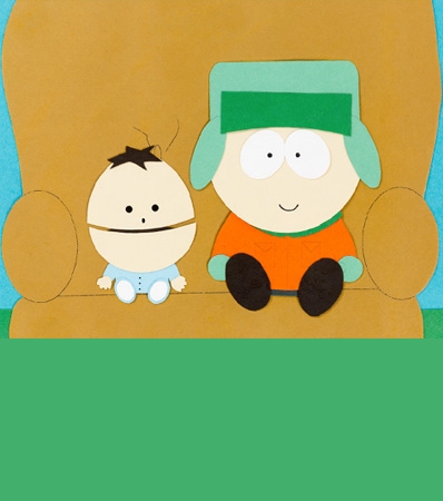 South Park Kyle and Ike Color Model