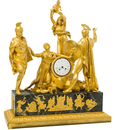 Thomire Clock, Intervention of the Sabine Women