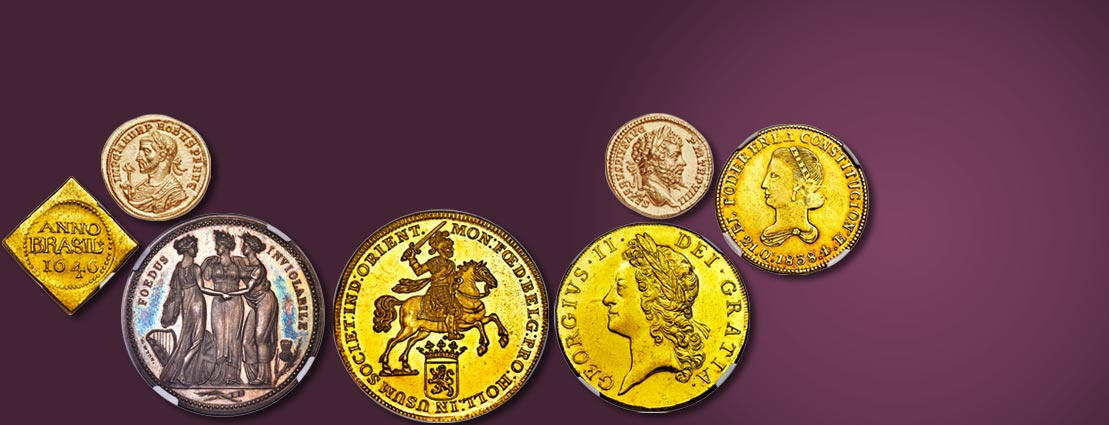 Featured Coins for the Upcoming World Coins Auction