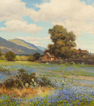 Robert William Wood Springtime in Texas