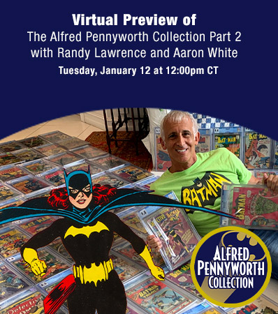 Virtual Preview ofThe Alfred Pennyworth Collection of Batman Comics