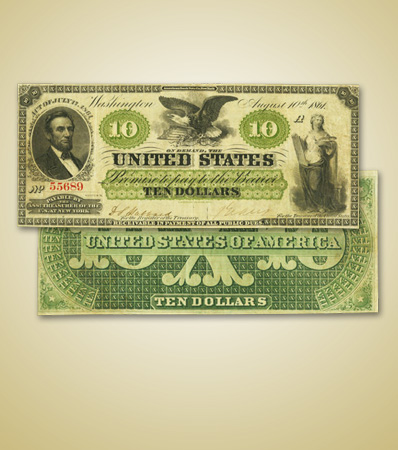 Lone Finest Graded $10 Demand Note