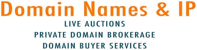 Domain Name & IP : Live Auctions Private Domain Brokerage  Domain Buyer Services