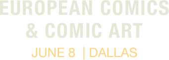 June 8 European Comic Art Signature Auction - Dallas #7208