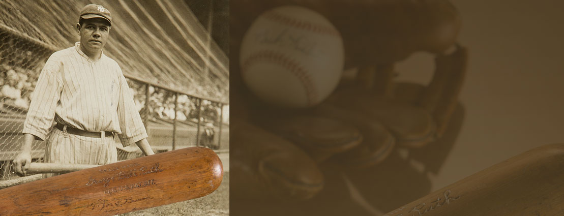 1927 Babe Ruth Game Used Record Sixtieth Home Run Bat Gifted to Legendary Performer and Collector Joe E. Brown, PSA/DNA GU 10.