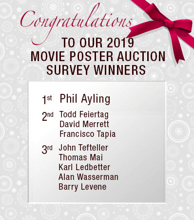 Congratulations To Our Survey Winners