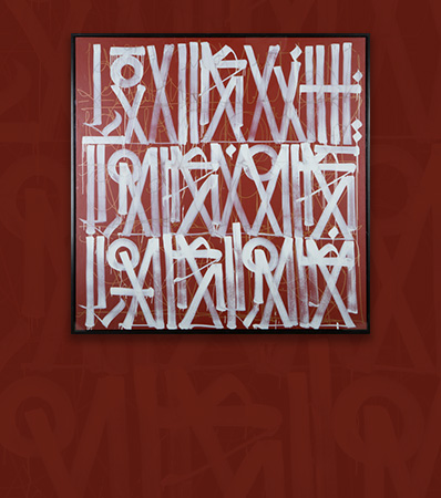 RETNA (American, b. 1979), Untitled