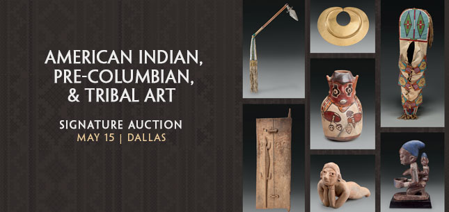 2015 May 15 American Indian Art , Pre-Columbian & Tribal Art Signature Auction - Dallas #5216