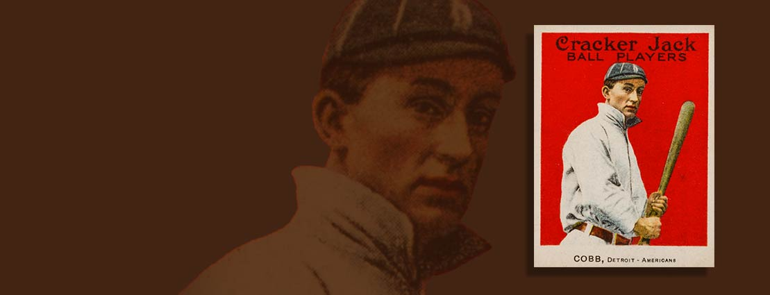 1915 Cracker Jack Ty Cobb #30 SGC 88 NM/MT 8 - Among The Finest Known!