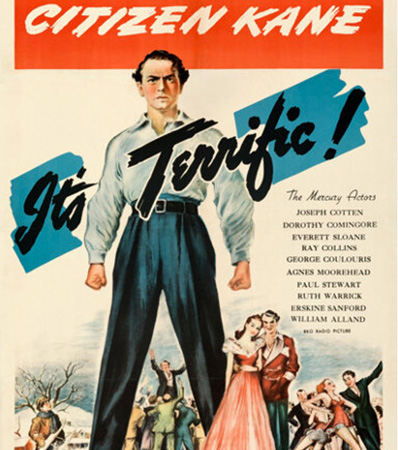 Citizen Kane (RKO, 1941). Fine/Very Fine on Linen