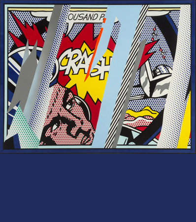 Roy Lichtenstein (1923-1997) | Reflections on Crash, from Reflection Series