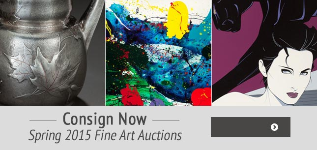 Consign for Spring 2015 Fine Art Auctions