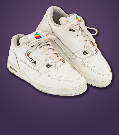 Apple | Apple Computer Sneakers, late 20th century