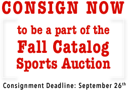 November 17 - 19 Sports Collectibles Catalog Auction - Dallas #7165