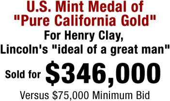 U.S. Mint Medal of