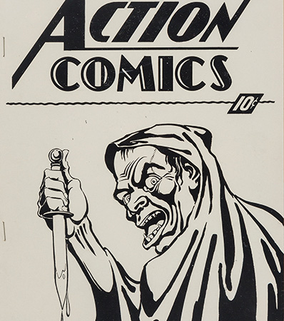 Action Comics #1 Ashcan (DC, 1937) CGC NM- 9.2 Cream to off-white pages