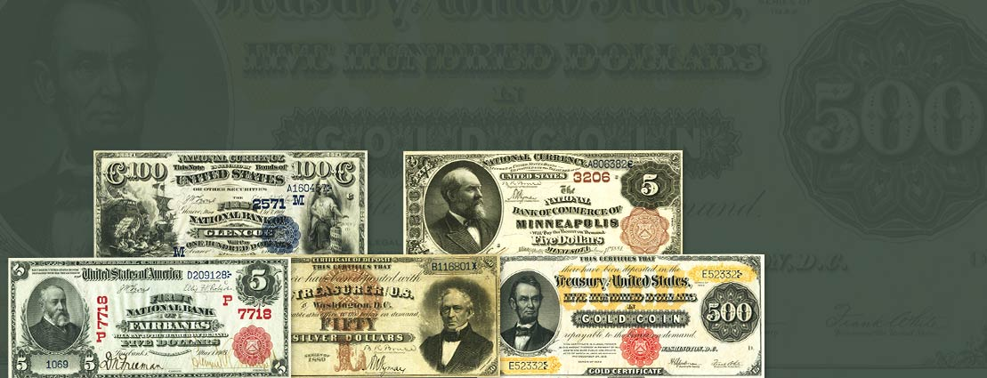 Various US Currency Background Image