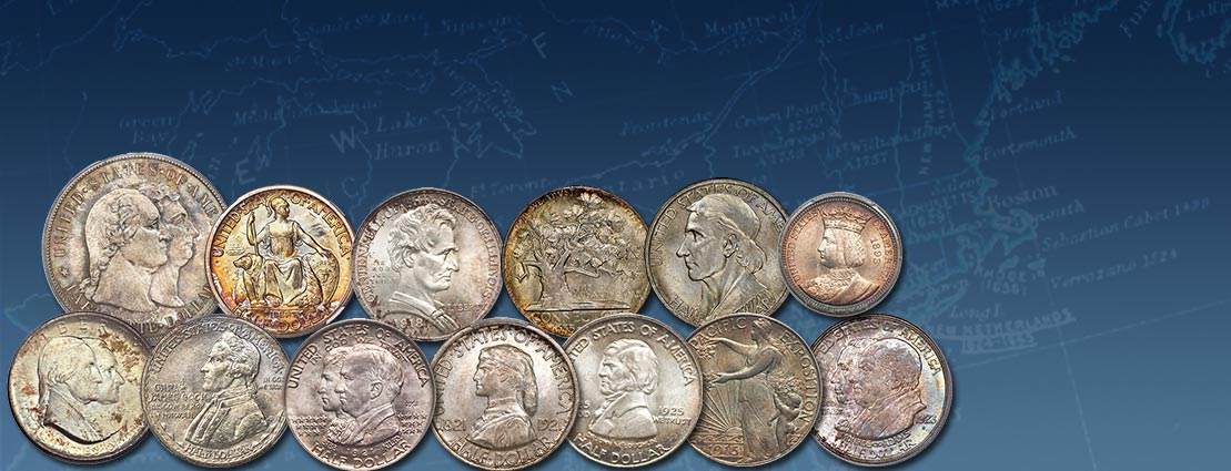 Classic Commemoratives US Coins