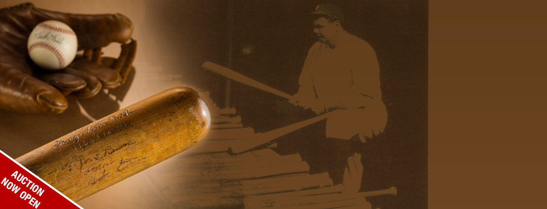 1927 Babe Ruth Record-Setting 60th Home Run Bat!