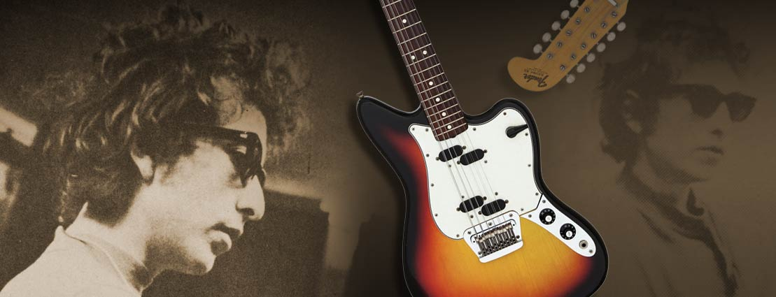 Bob Dylan's Personally-Owned 1965 Fender Electric Guitar From His Blonde on Blonde Sessions Offered for First Time March 16
