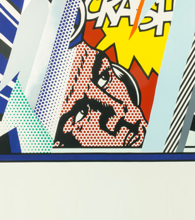 Roy Lichtenstein Reflections on Crash, from Reflection Series