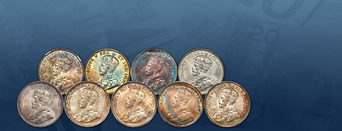 The Marlborough Collection of George V Quarters Special Monthly Online Auction April 25