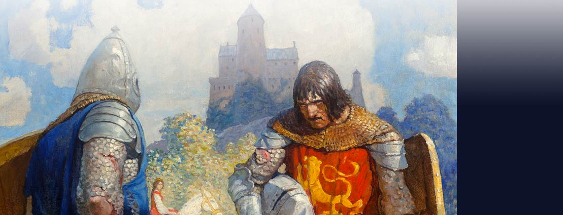 Boys King Arthur - N. C. Wyeth