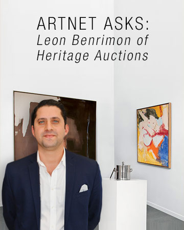 artnet Asks: Leon Benrimon of Heritage Auctions