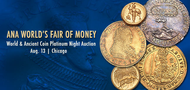 2015 August 12 - 17 ANA World Coins Signature Auction - Chicago #3041