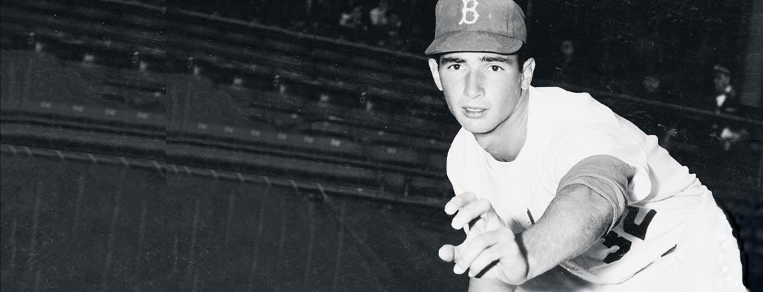 1955 Sandy Koufax Rookie Original News Photograph