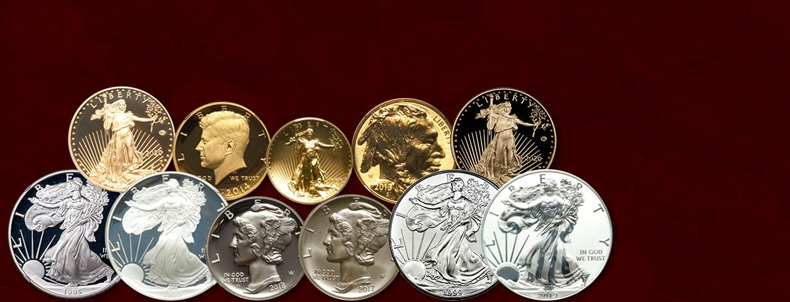 Featured Modern Collectible US Coins & Bullion