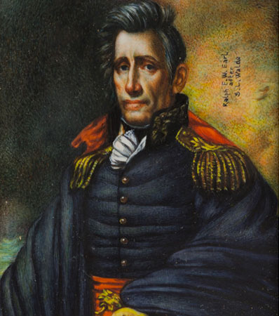 Andrew Jackson: An Important Original Oil Portrait by Ralph E. W. Earl