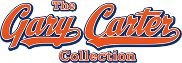 Featured Baseball and Glove Award from the Gary Carter Collection Auction - Dallas #7165