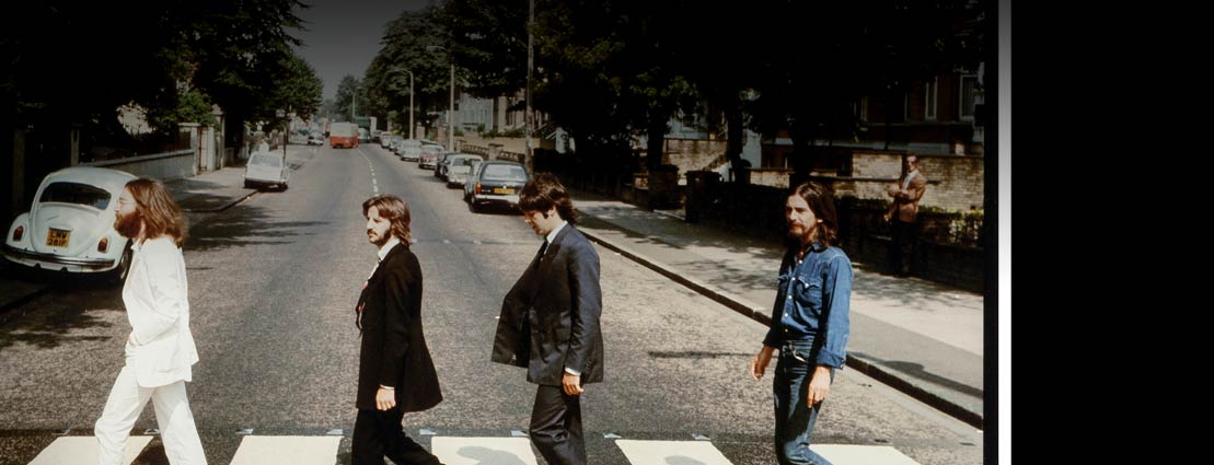ain Macmillan (Scottish, 1938-2006) The Beatles, Abbey Road (two rare alternate cover photograph outtakes), 1969