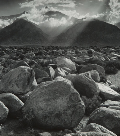 Ansel Adams Mount Williamson, Sierra Nevada, from Manzanar, California, 1944