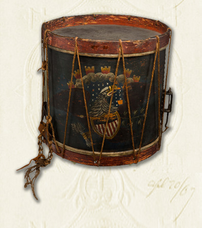 Jordan B. Noble: African American Drummer in the War of 1812 Personally Owned Snare Drum