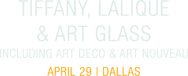 April 29 Lalique & Art Glass Signature Auction - Dallas #8040