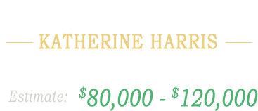 Property from the Estate of Katherine Harris Chicago, IL ,000 - 0,000