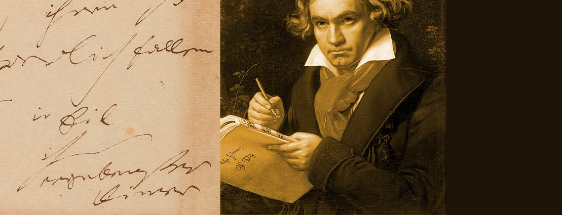 Ludwig van Beethoven Autograph Letter Signed