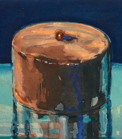 Wayne Thiebaud | Dark Cake, 1983